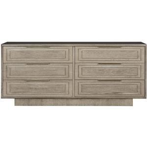 Dresser with Brass Hardware