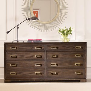 Bromeley Customizable Double Drawer Chest