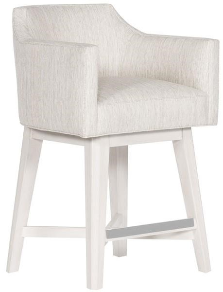 MIY Dining Upholstered Swivel Counter Stool by Vanguard Furniture at Baer's Furniture