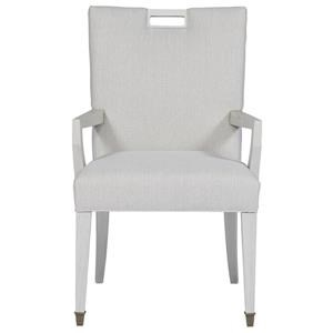 Dining Arm Chair with Cutout
