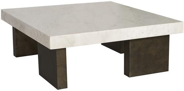 Santa Cruz Square Cocktail Table by Vanguard Furniture at Baer's Furniture
