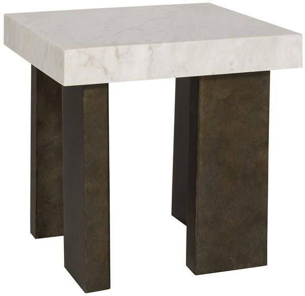 Santa Cruz Lamp Table by Vanguard Furniture at Baer's Furniture