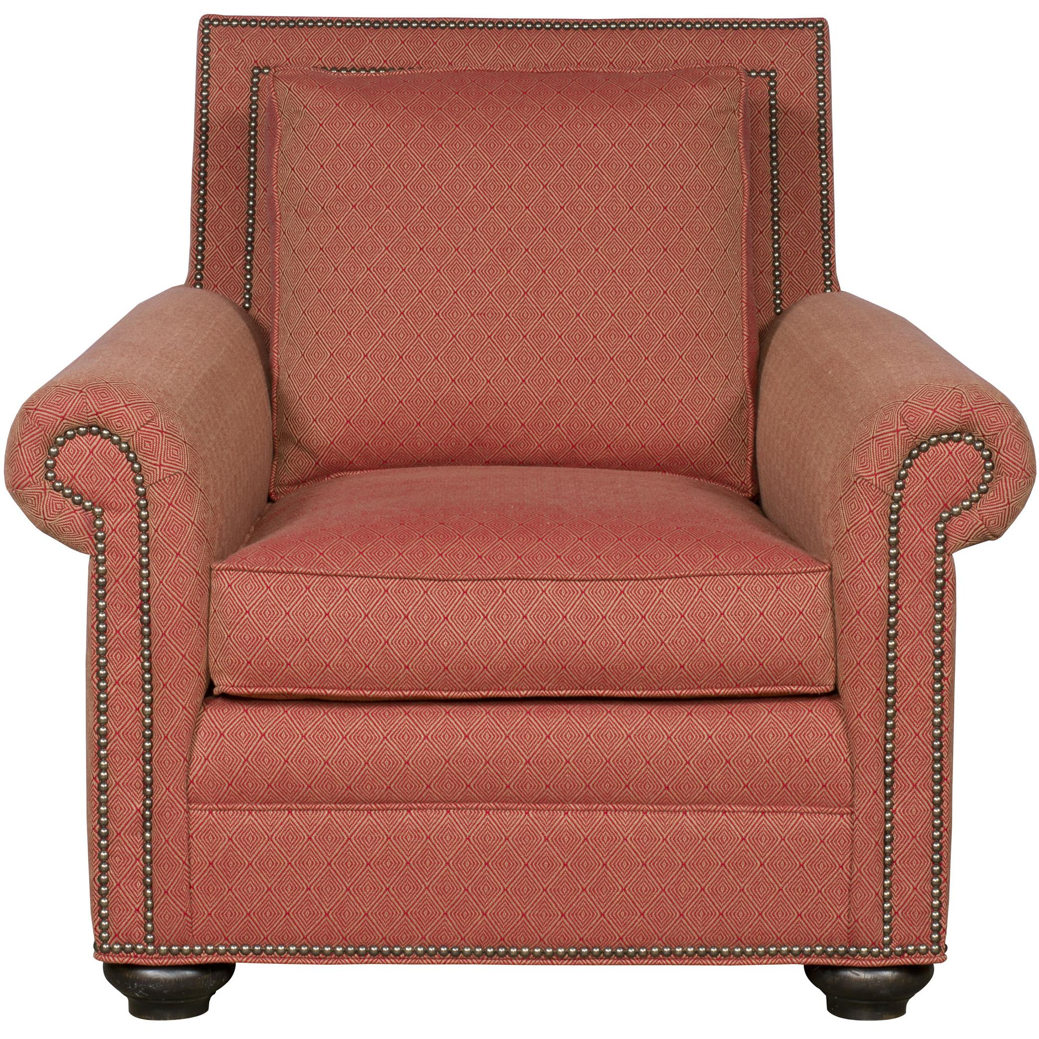 Simpson Traditional Chair by Vanguard Furniture at Baer's Furniture