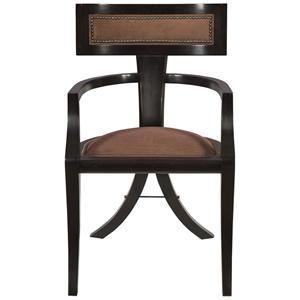 Greek Peak Contemporary Dining Arm Chair