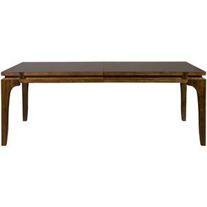 Hogue Lane Contemporary Dining Table with Leaves