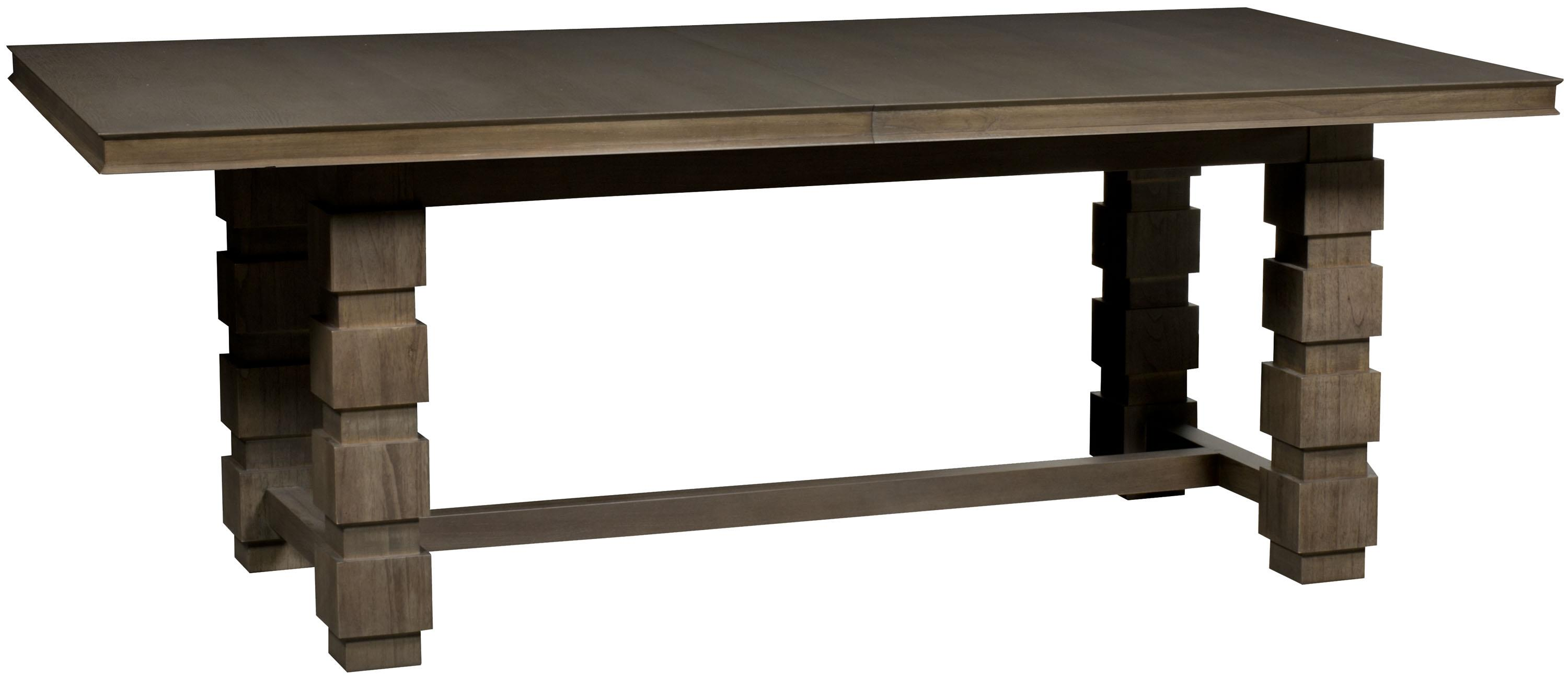 Thom Filicia Home Collection Seneca Dining Table by Vanguard Furniture at Baer's Furniture
