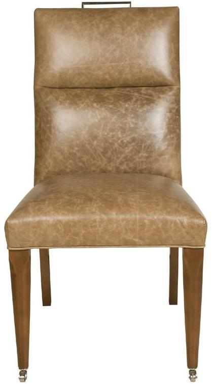 Thom Filicia Home Collection Brattle Road Side Chair by Vanguard Furniture at Baer's Furniture