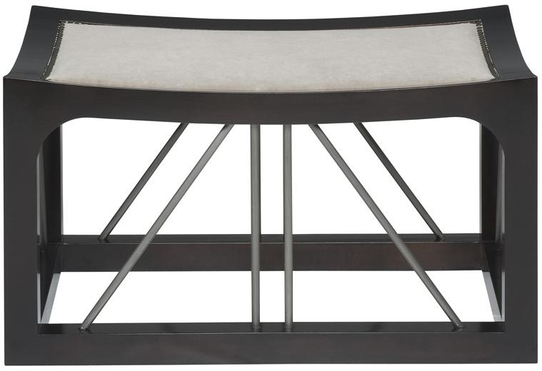 Thom Filicia Home Collection Upholstered Bench by Vanguard Furniture at Baer's Furniture