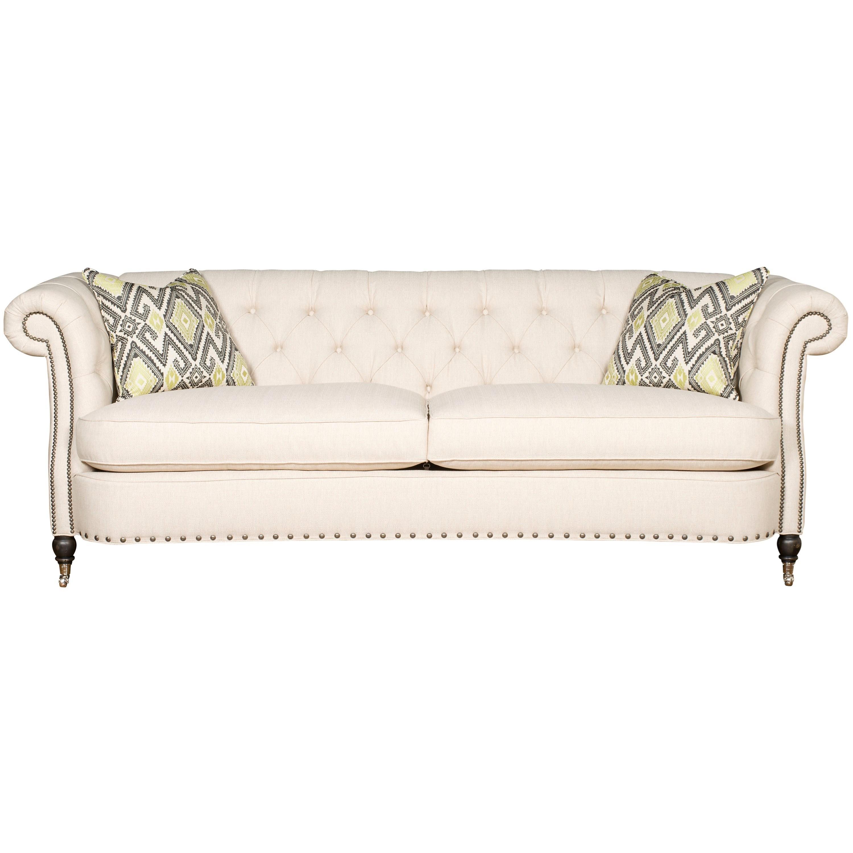 Upholstery Vanguard Brit Sofa by Vanguard Furniture at Baer's Furniture