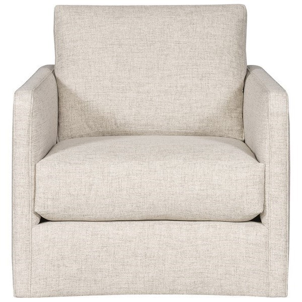 Wynne - Ease Customizable Modern Swivel Chair by Vanguard Furniture at Baer's Furniture