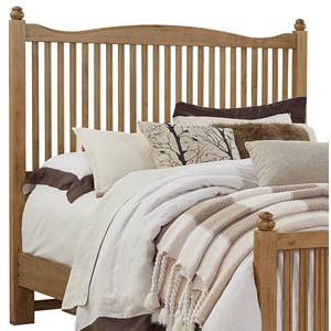 Solid Wood Queen Slat Headboard