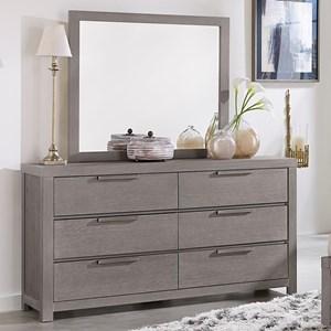 Dresser & Landscape Mirror