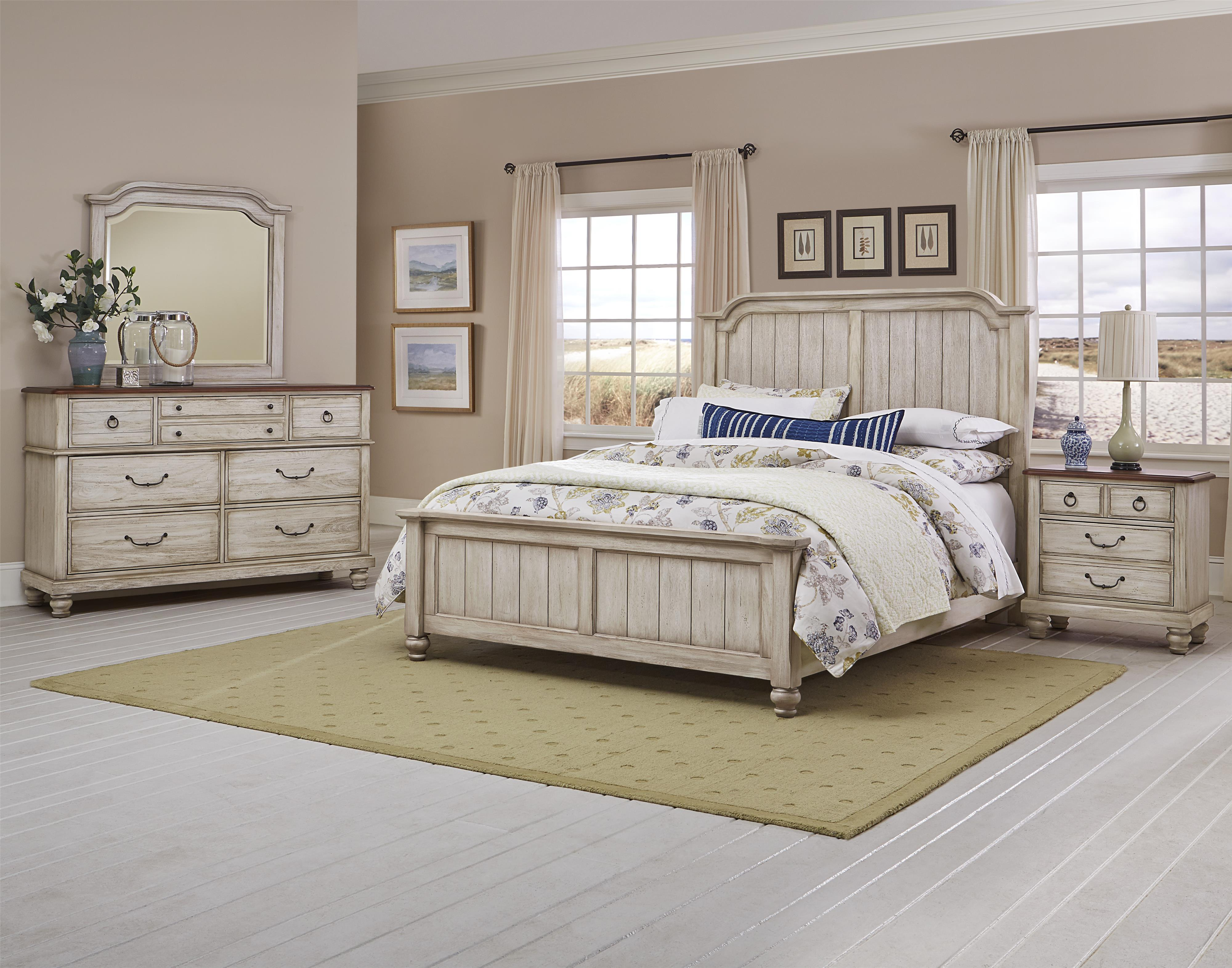 Arrendelle Queen Bedroom Group by Vaughan Bassett at Johnny Janosik