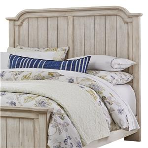 Transitional Queen Mansion Headboard
