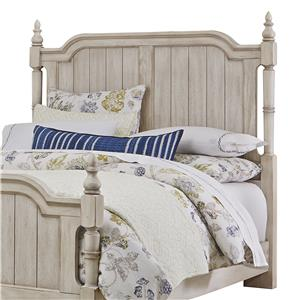 Transitional Queen Poster Headboard
