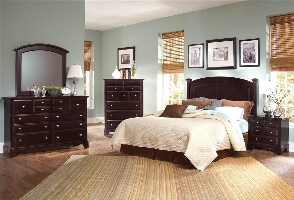 Hamilton/Franklin King Bedroom Group by Vaughan Bassett at Westrich Furniture & Appliances