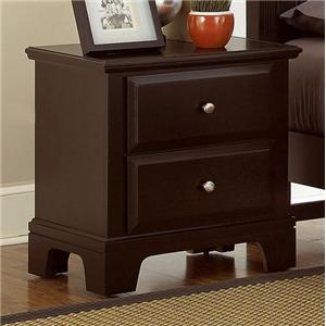 Vaughan Bassett Hamilton/Franklin Night Stand - 2 drawers