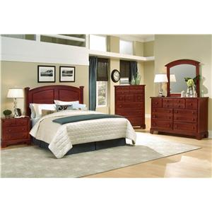 Vaughan Bassett Hamilton/Franklin Full/Queen Bedroom Group