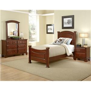 Vaughan Bassett Hamilton/Franklin Twin Bedroom Group
