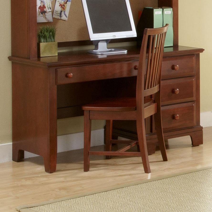 Hamilton/Franklin Computer Desk by Vaughan Bassett at Johnny Janosik