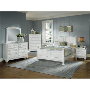 Vaughan Bassett Hamilton/Franklin California King Bedroom Group