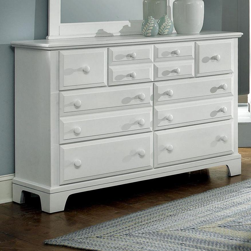 Hamilton/Franklin 7 Drawer Dresser Chest by Vaughan Bassett at Northeast Factory Direct