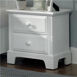 Vaughan Bassett Hamilton/Franklin Night Stand - 2 drawers