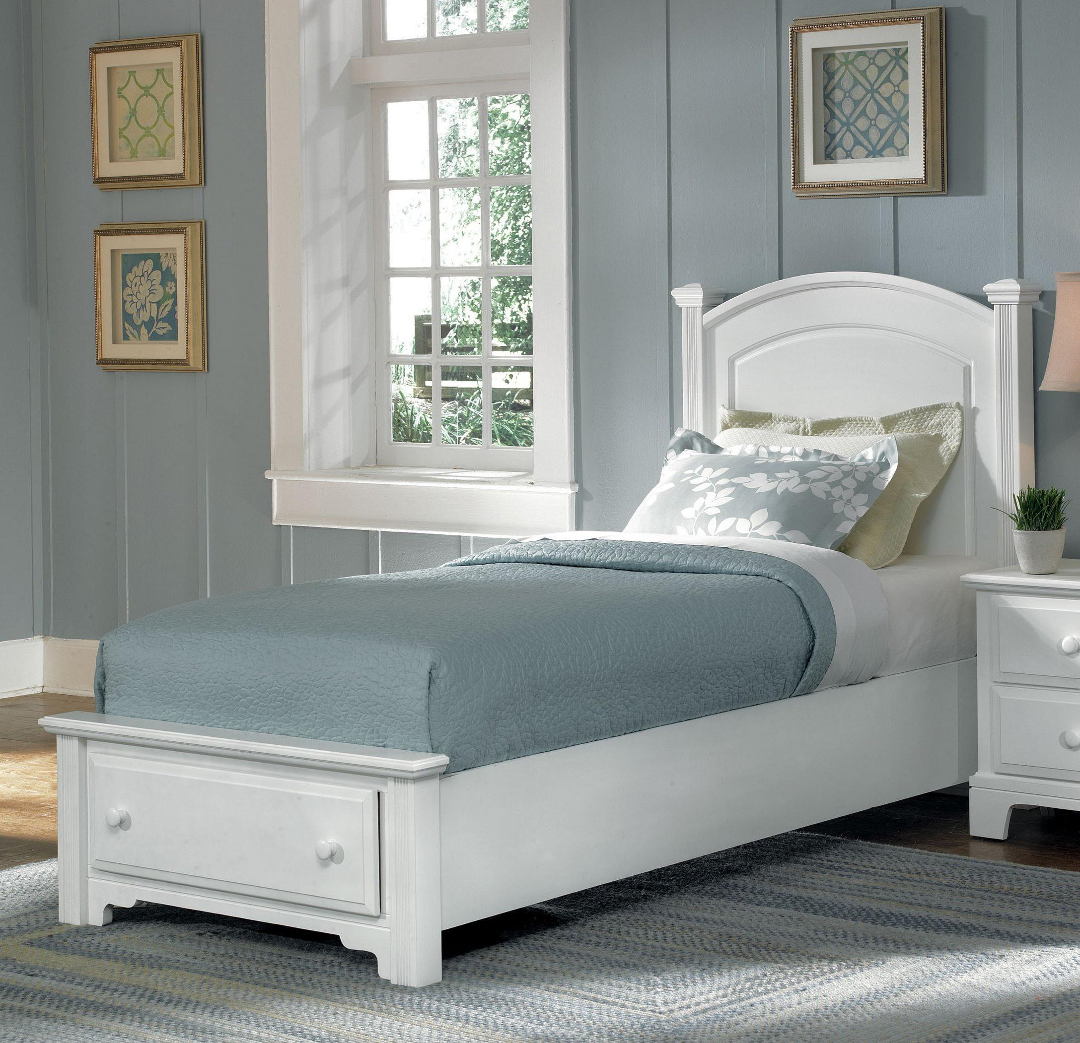 Hamilton/Franklin Twin Panel Storage Bed by Vaughan Bassett at Northeast Factory Direct