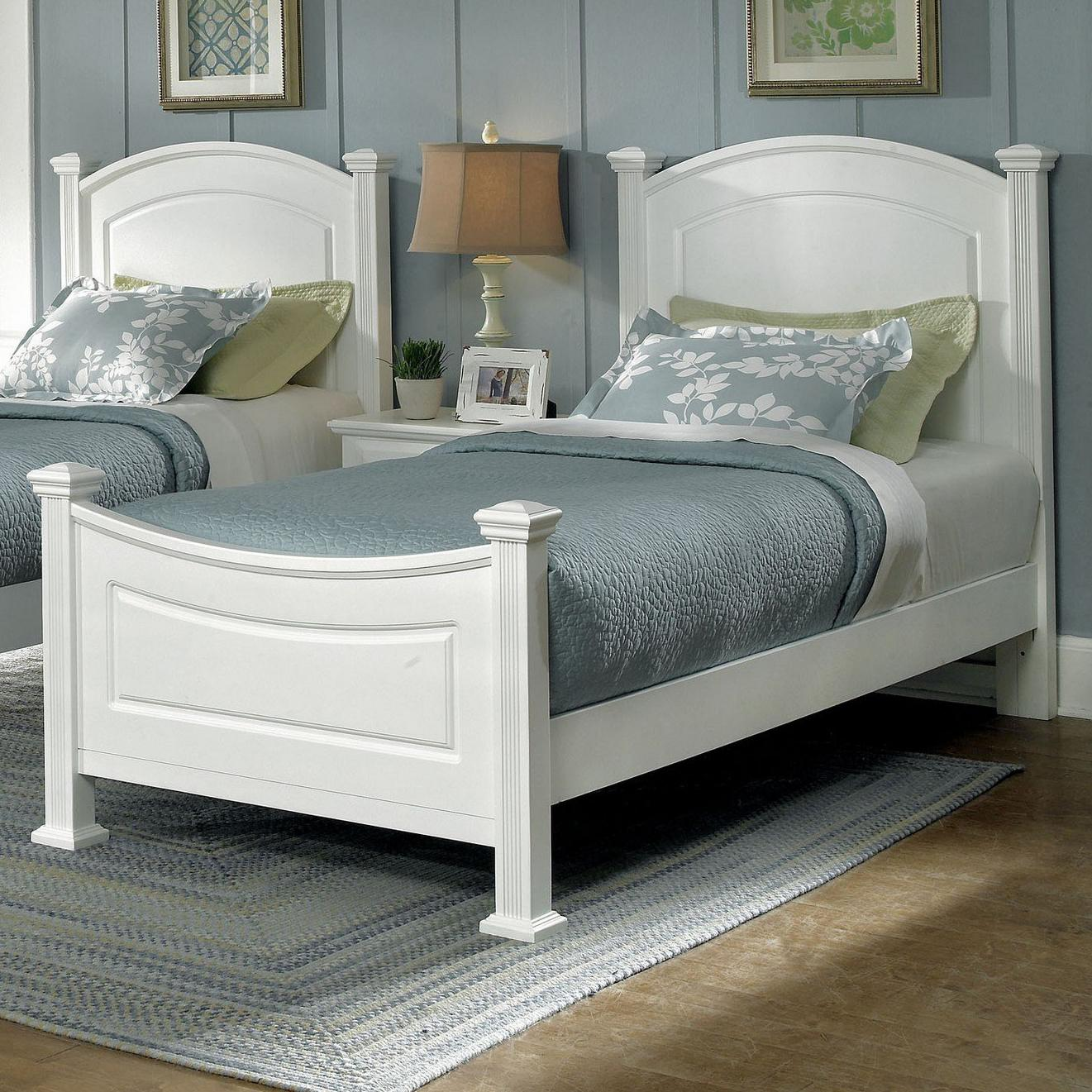 Hamilton/Franklin Twin Panel Bed by Vaughan Bassett at Johnny Janosik