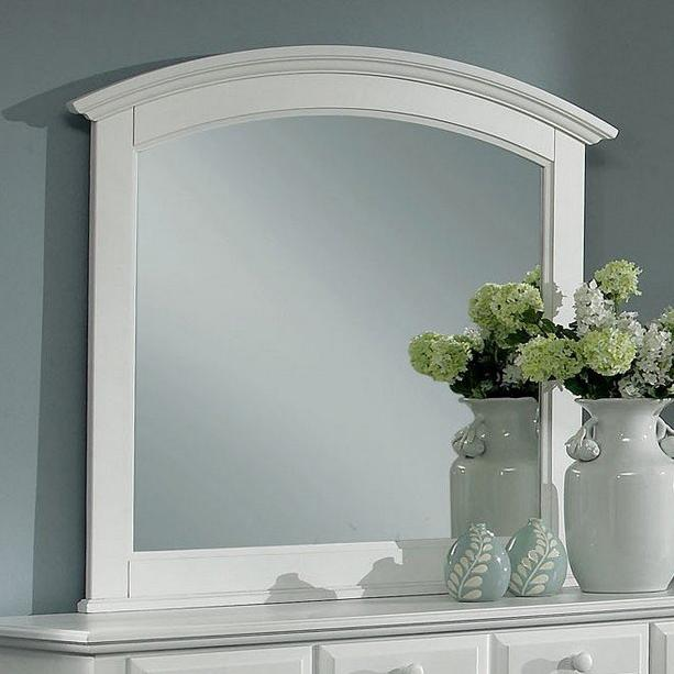 Hamilton/Franklin Landscape Mirror by Vaughan Bassett at Gill Brothers Furniture