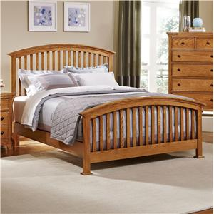 Vaughan Bassett Forsyth Queen Arched Bed