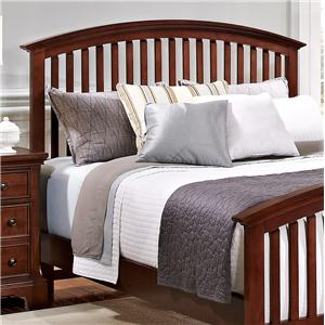 Vaughan Bassett Forsyth King Arched Headboard