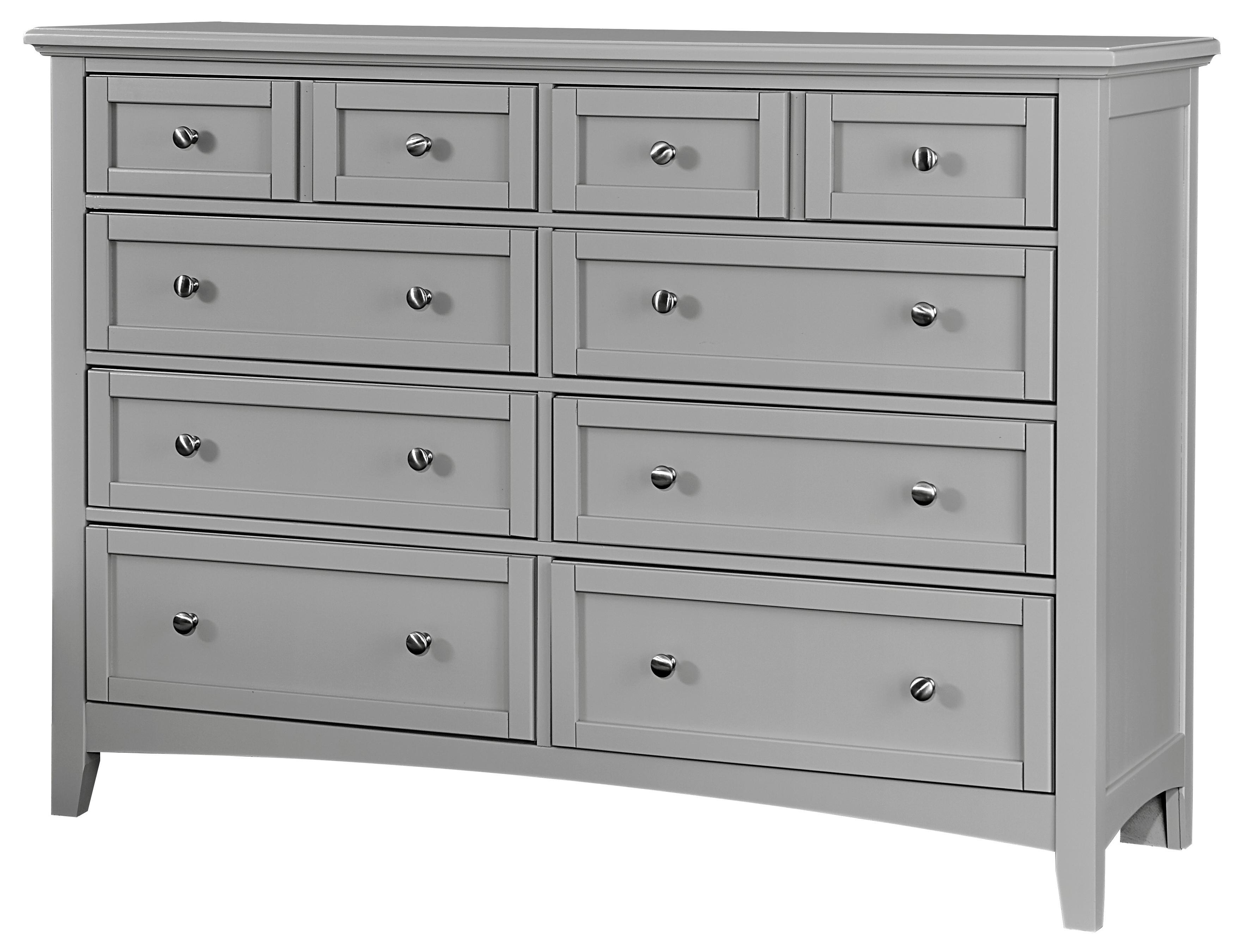 Bonanza Triple Dresser - 8 Drawers by Vaughan Bassett at Johnny Janosik