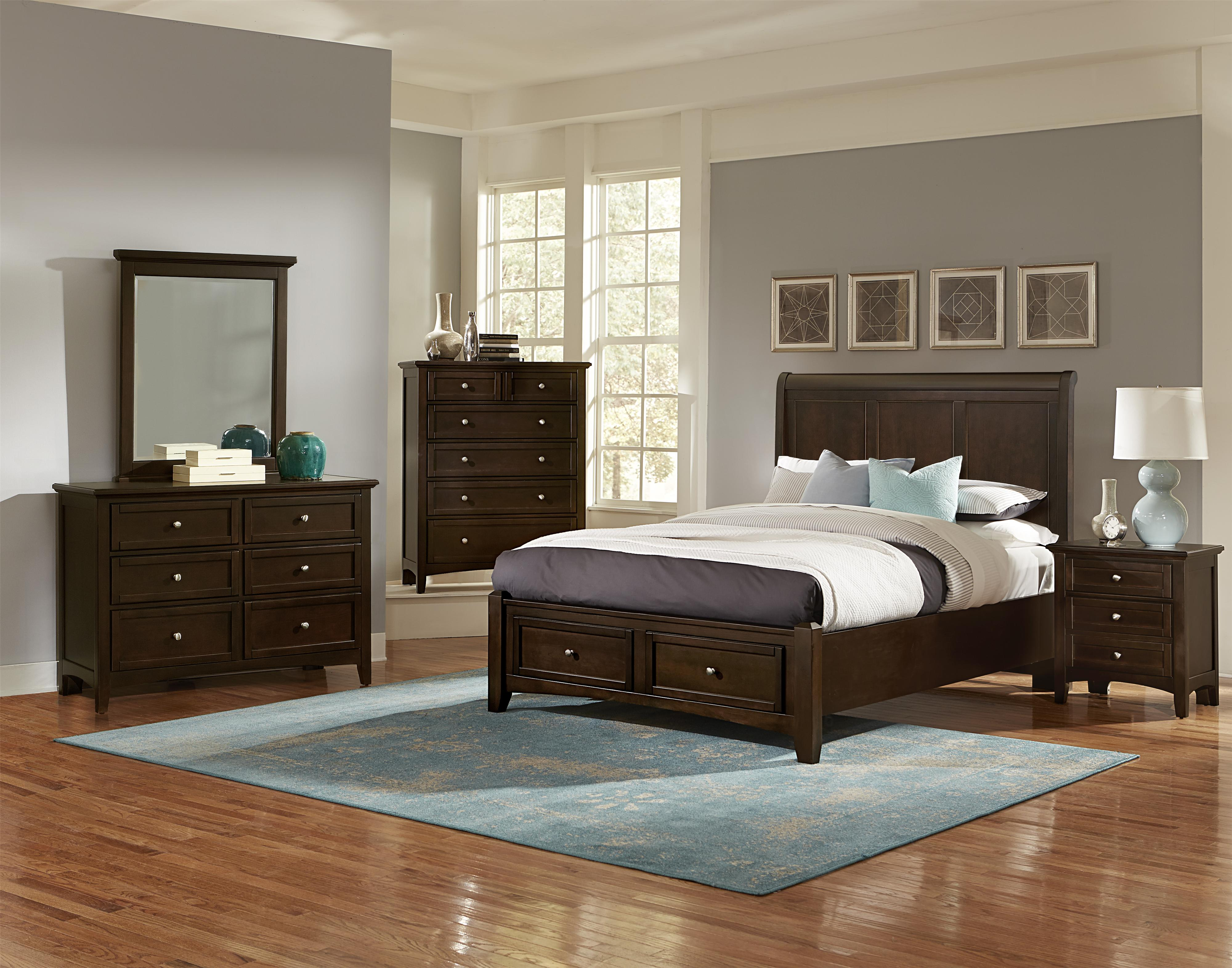 Bonanza Queen Bedroom Group by Vaughan Bassett at Powell's Furniture and Mattress