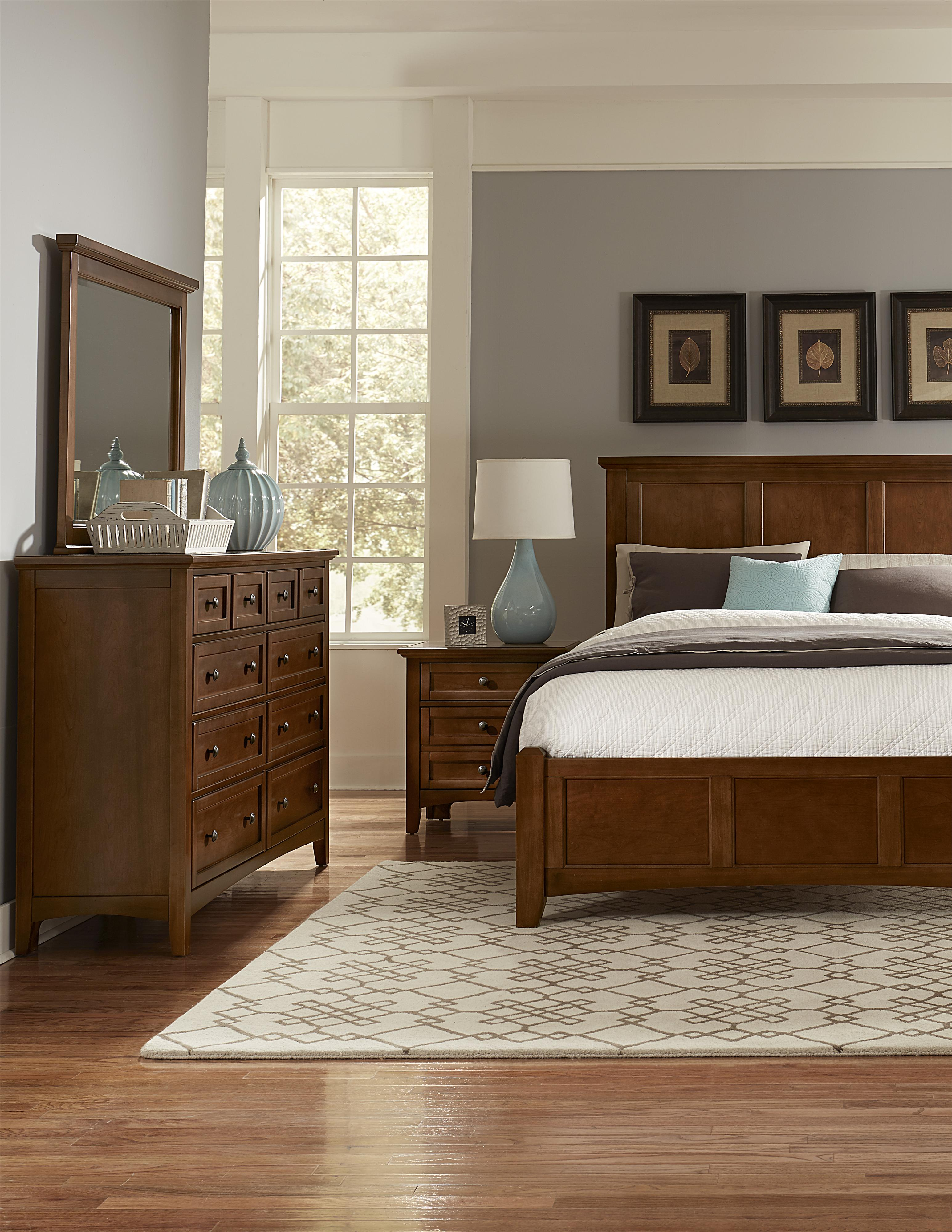 Bonanza California King Bedroom Group by Vaughan Bassett at H.L. Stephens