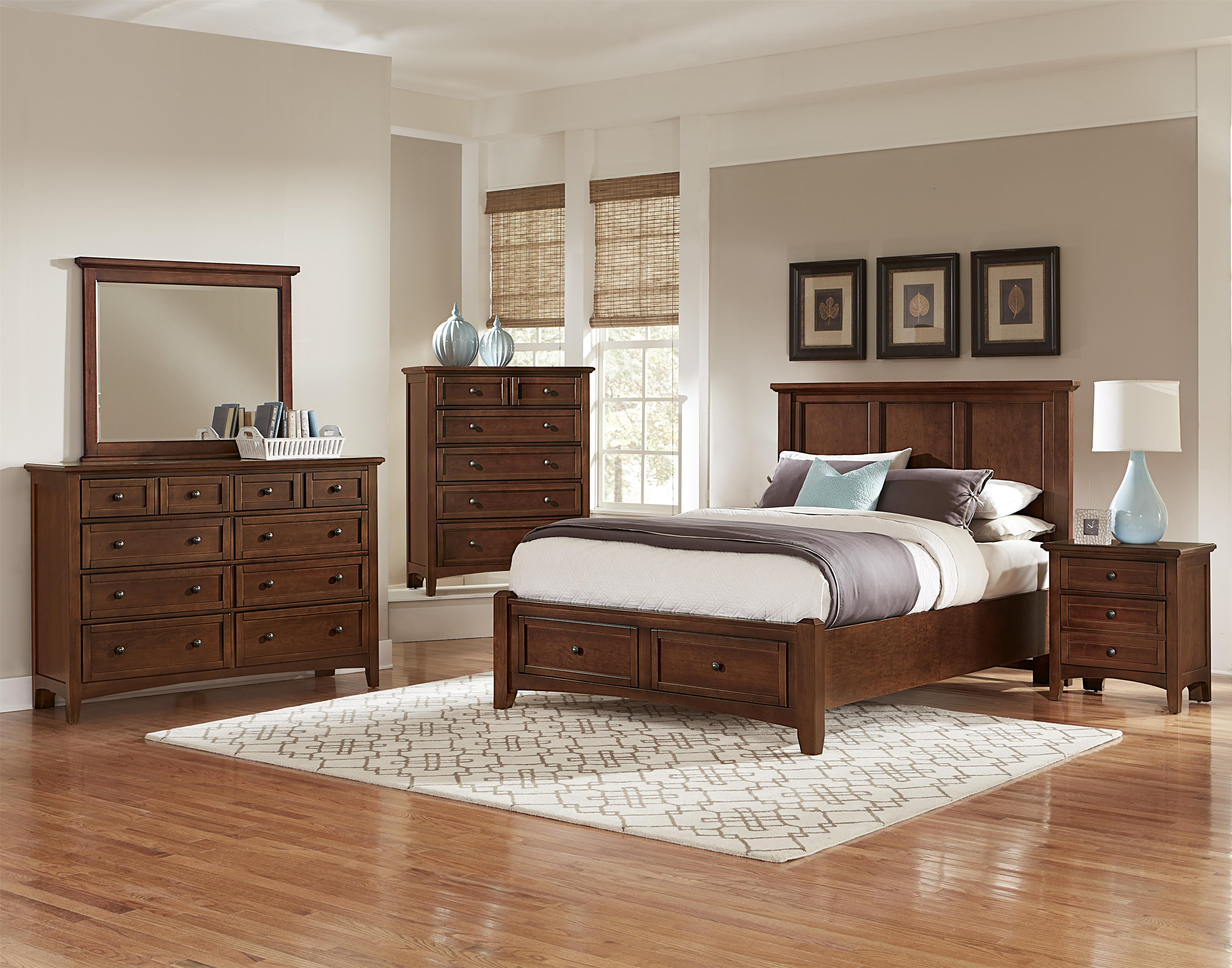 Bonanza King Bedroom Group by Vaughan Bassett at Lindy's Furniture Company
