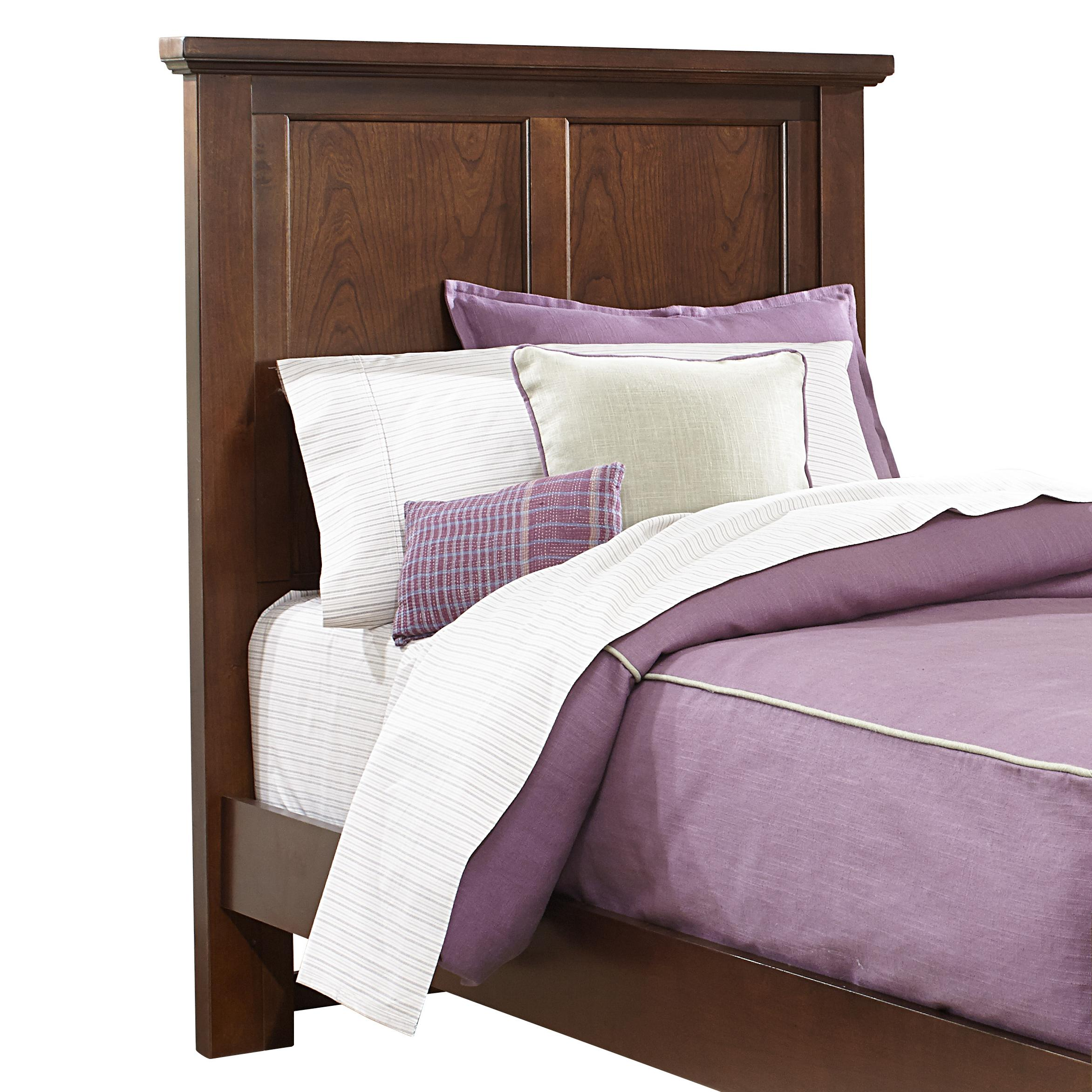 Bonanza Twin Mansion Headboard by Vaughan Bassett at Wilcox Furniture