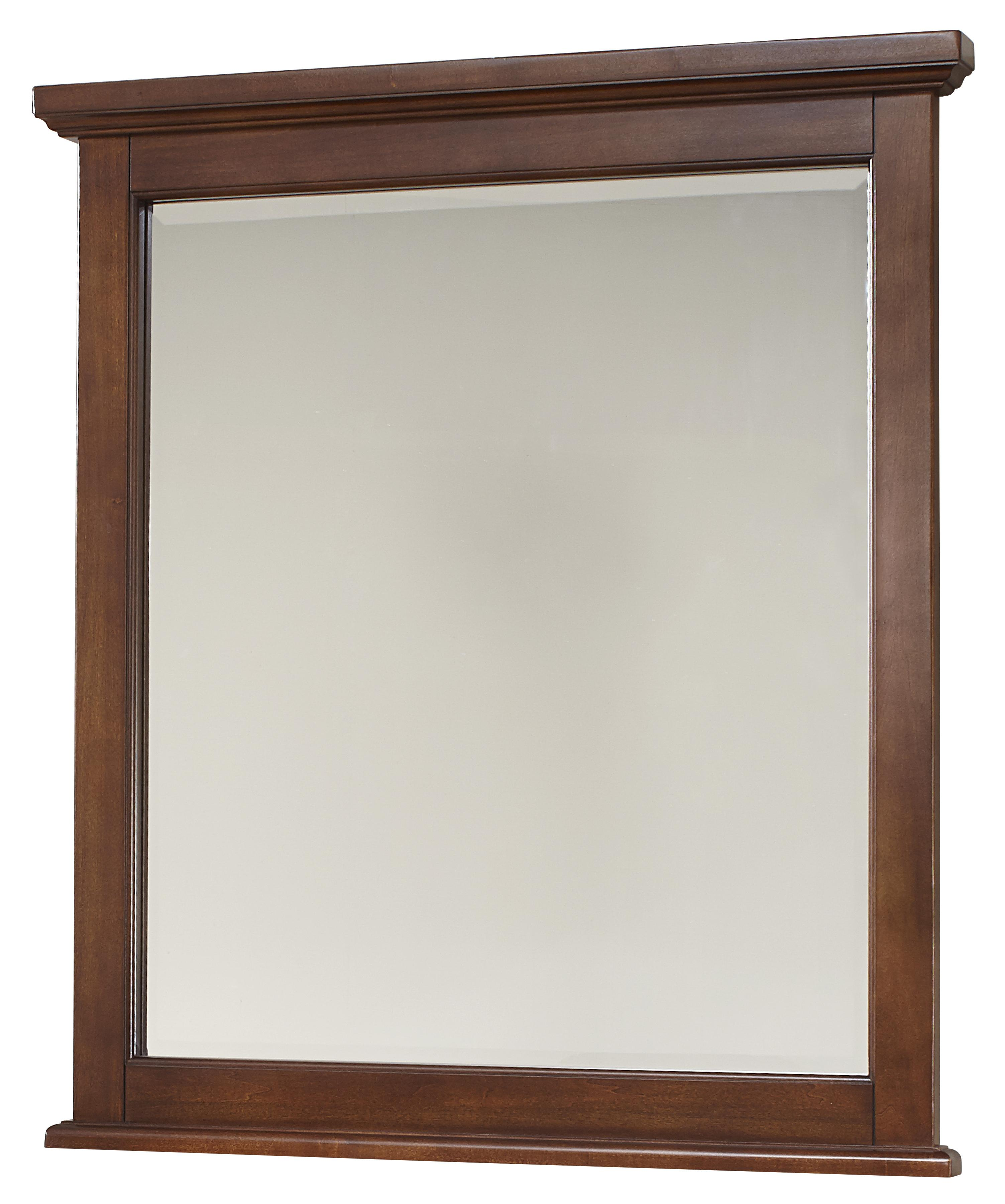 Bunkhouse Small Landscape Mirror by Vaughan-Bassett at Crowley Furniture & Mattress
