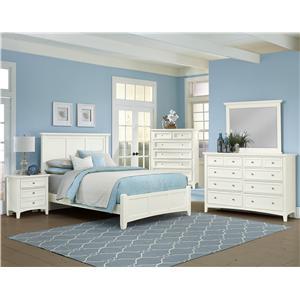 Vaughan Bassett Bonanza California King Bedroom Group