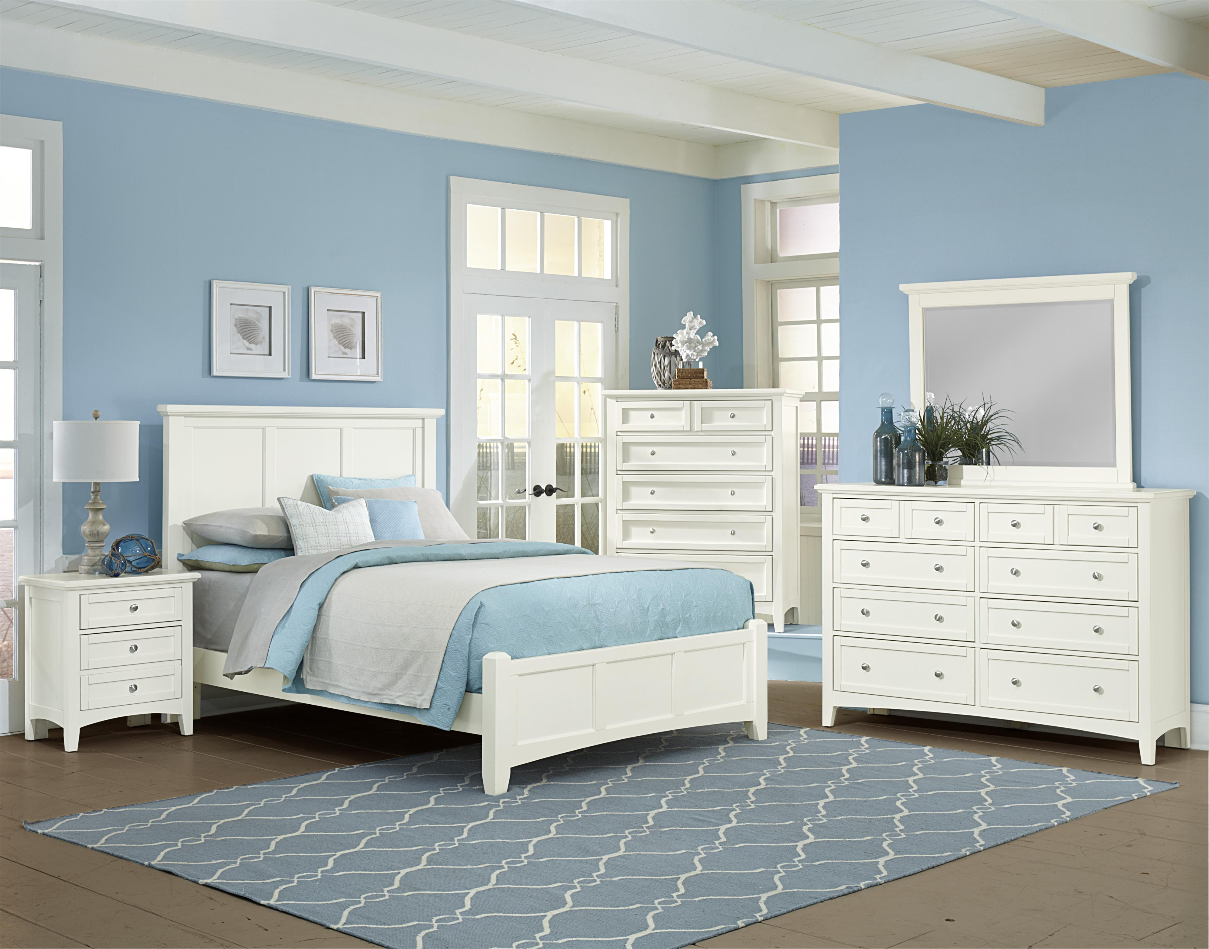Bonanza Full Bedroom Group by Vaughan Bassett at Steger's Furniture