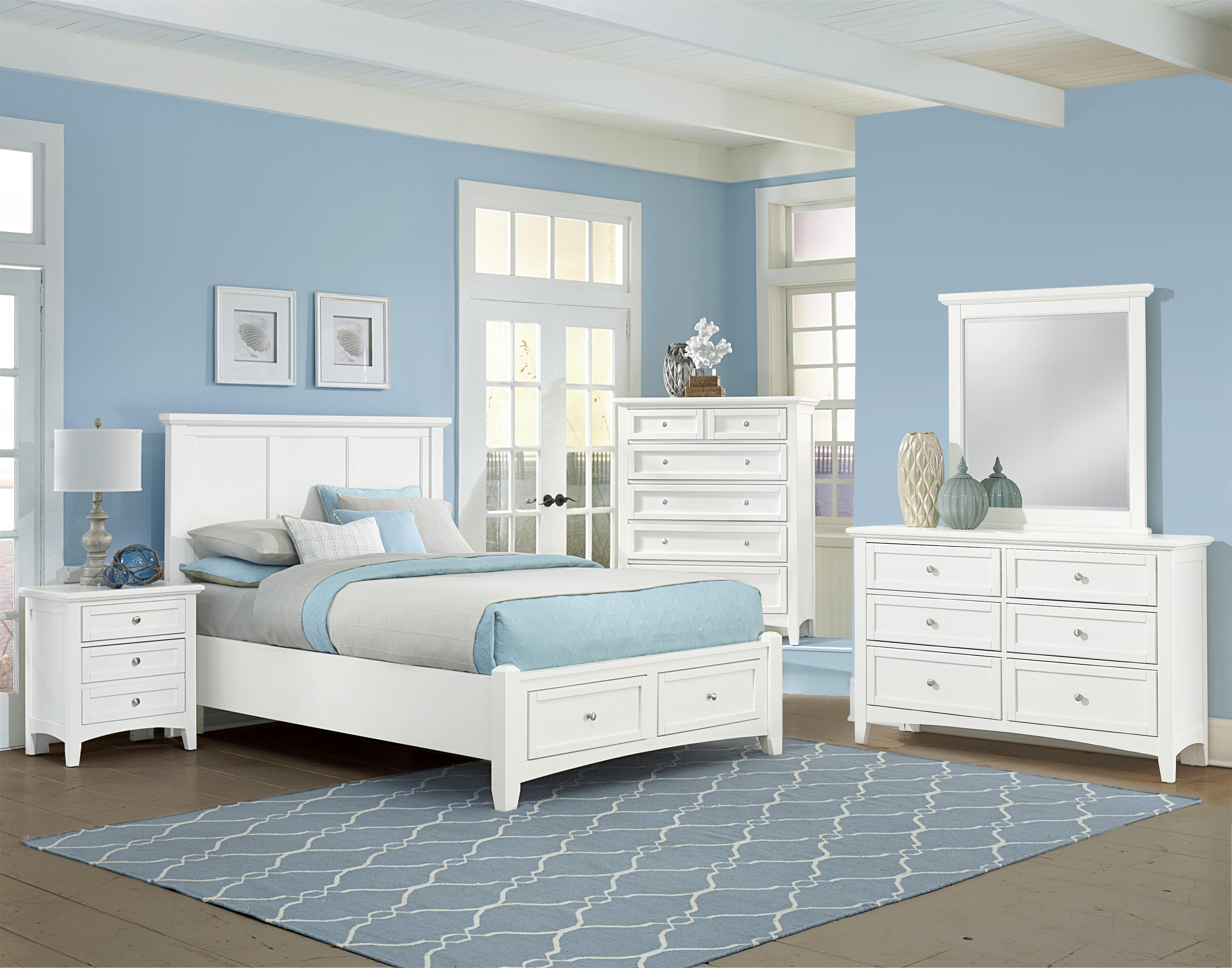 Bonanza Queen Bedroom Group by Vaughan Bassett at Home Collections Furniture