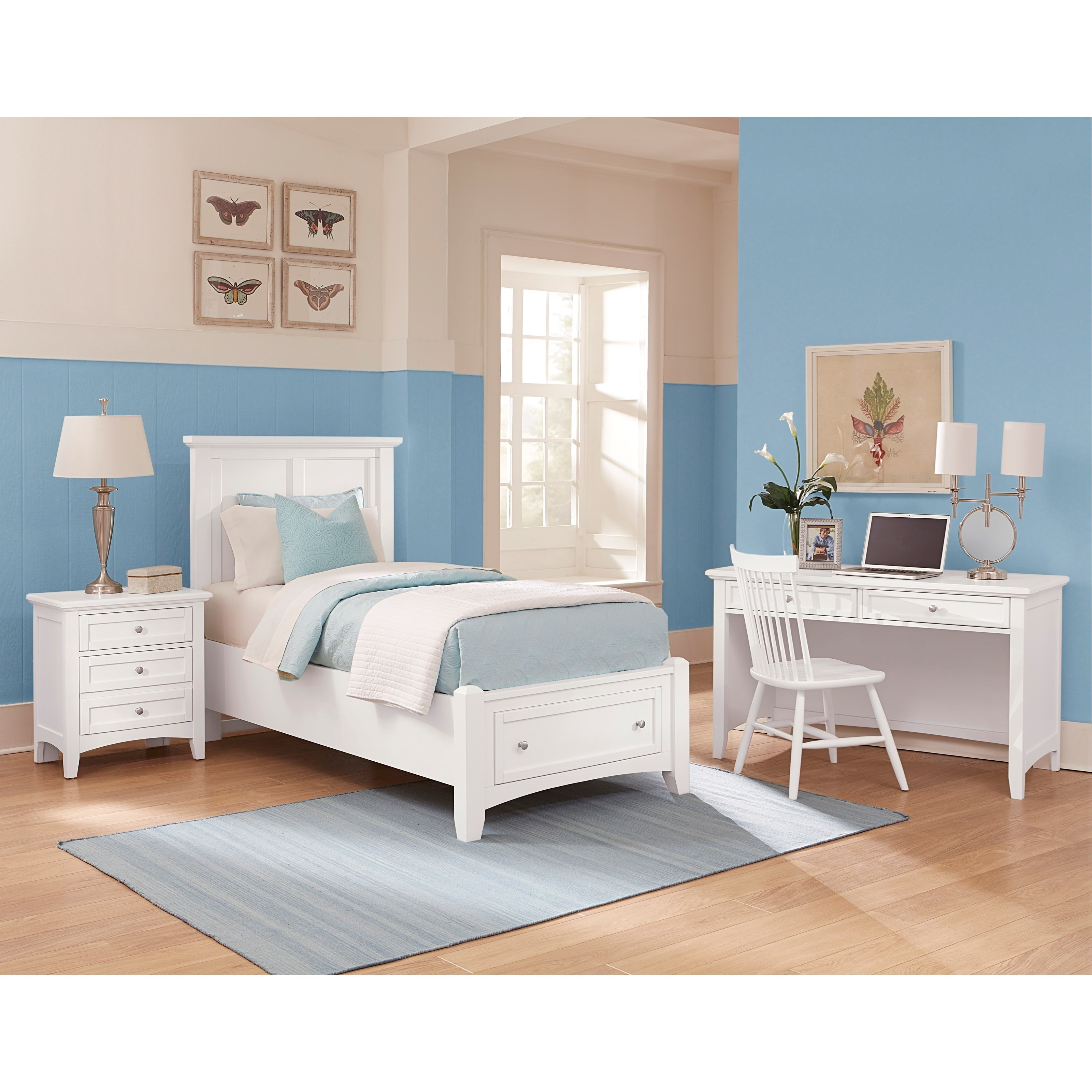 Bonanza Twin Bedroom Group by Vaughan Bassett at Northeast Factory Direct
