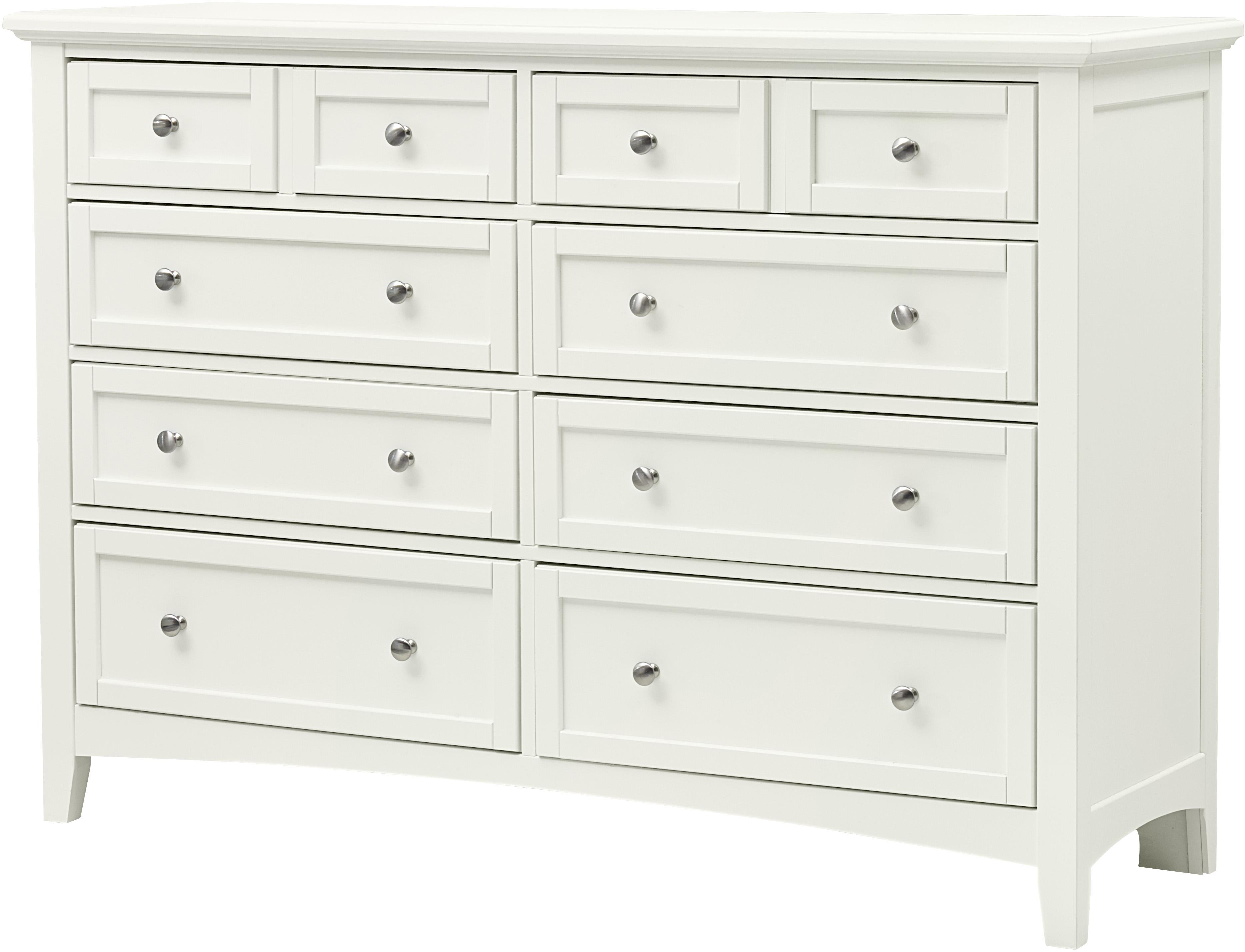 Bonanza Triple Dresser - 8 Drawers by Vaughan Bassett at Turk Furniture
