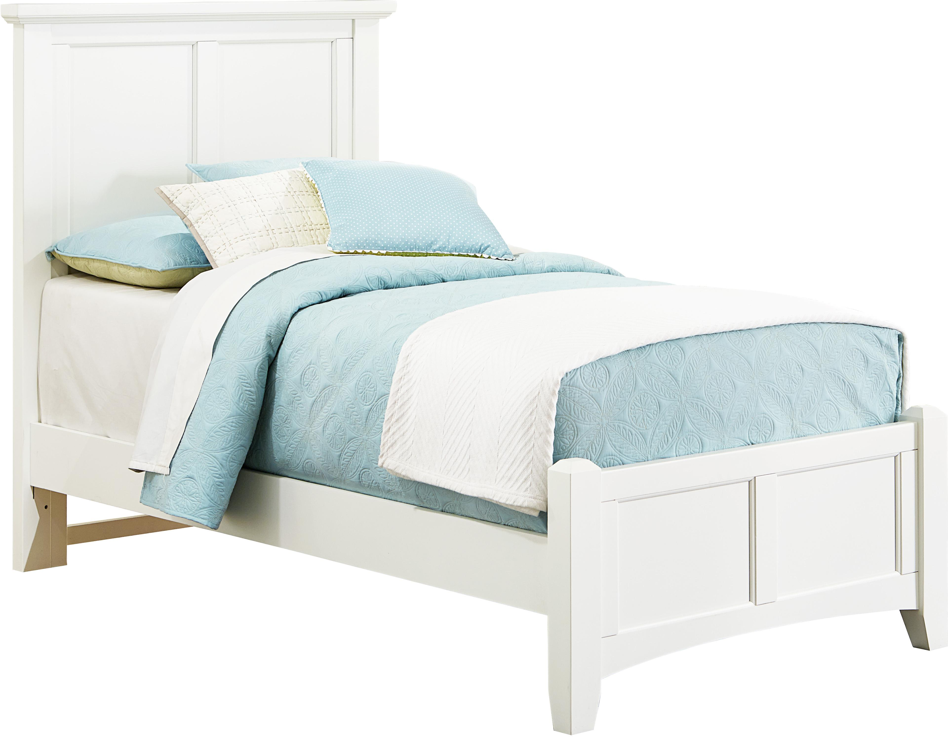 Bunkhouse Twin Mansion Bed by Vaughan-Bassett at Crowley Furniture & Mattress