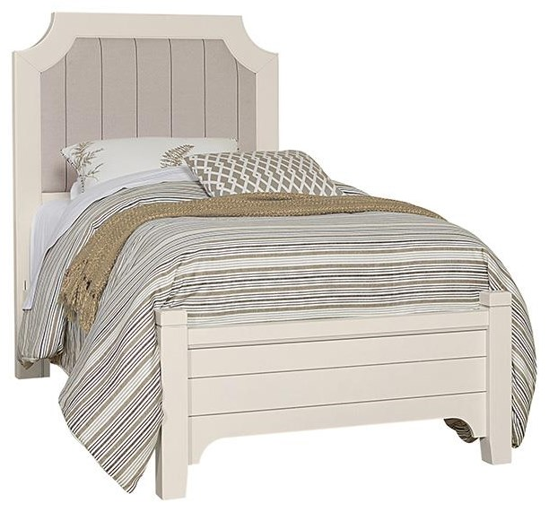 Bungalo Home Twin Upholstered Bed by Vaughan Bassett at Johnny Janosik