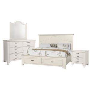 Queen Mantel, Dresser,Mirror, Nightstand