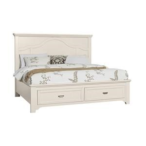Queen Mantel Storage Bed