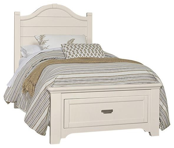 Bungalo Home Full Arch Storage Bed by Vaughan Bassett at Johnny Janosik