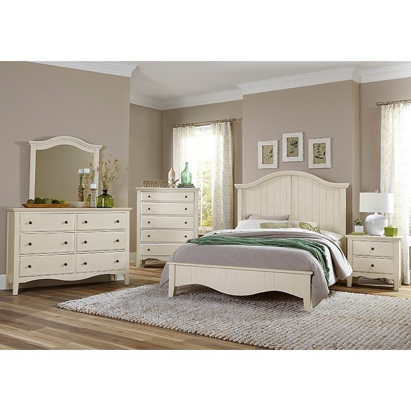 Casual Retreat King Bedroom Group  by Vaughan Bassett at Godby Home Furnishings