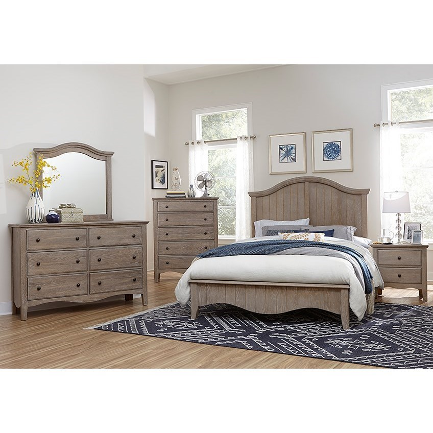 Casual Retreat Queen Bedroom Group  by Vaughan Bassett at Northeast Factory Direct